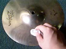clean2  Trik membersihkan cymbal